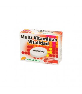 Multivitaminas + Ginseng 24...