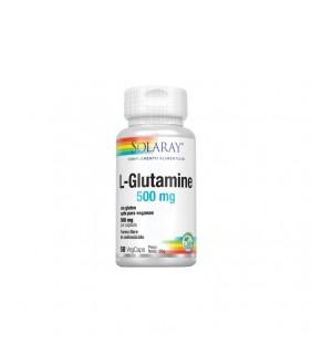L-glutamine 500 mg 50 cápsulas