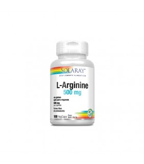 L-arginine 500mg 100 cápsulas